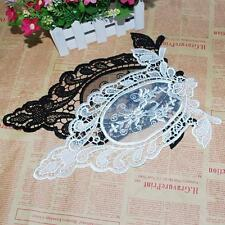 Fashion Women DIY Sewing Craft Flower Venise Motif Collar Lace Trim Applique E20