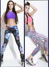 Fiber Activewear leggings Fitness Gym Workout Pilates Crossfit Colombian Pants