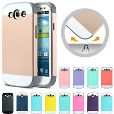 Hybrid Best Impact Slim Hard Armor Case Cover For Samsung Galaxy S3 S III i9300