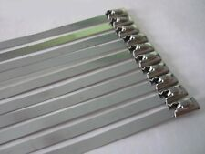 Metal cable ties binder connector Kabelbinder aus Edelstahl Steel