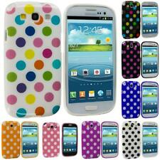 Color TPU Polka Dot Case Cover Accessory for Samsung Galaxy S3 S III i9300 Phone