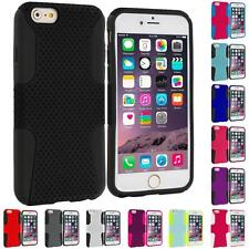 For Apple iPhone 6 (4.7) Hybrid Mesh Shockproof Skin Case Cover Accessory