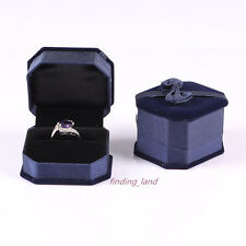 Wholesale Premium Velvet Ring Earring Necklace Bracelet Set Jewellery Gift Boxes