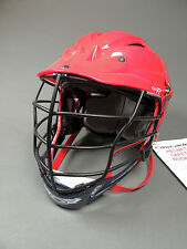 NEW Cascade Lax CPV-R Red/Red/Navy Custom Color Lacrosse Helmet Retails for $149