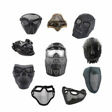Tactical Safety Airsoft Game Army Paintball Hunting BB Masks Goggles 12 Styles