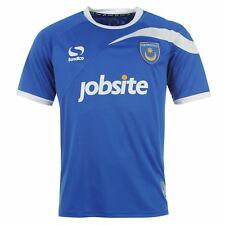 Sondico Portsmouth Home Jersey Shirt 2013 2014 Junior Football Soccer 5-6 (XSB)
