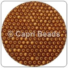 100 x 6mm Coffee Acrylic Pearl Beads, Jewellery, Wine Glass Charms