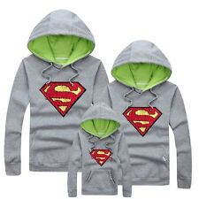 Family fitted Unisex Lovers Clothing Hooded Sweater Sweatshirts warm Coat