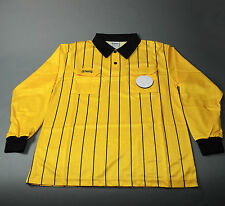 Olympus Soccer Referee Long Sleeve Shirt Yellow/Black (NEW) Retails: $39.99