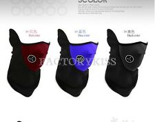 Neoprene Winter Neck Warm Face Mask Veil Shield Sports Motorcycle Ski Bike HPT