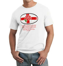 "ENGLAND RUGBY T-SHIRT - ""BRUISERS OF ENGLAND"" - St George Cross, English Rose,"