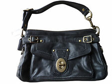 NWT Coach Legacy Anniversary Black Vachetta Leather Shoulder Bag