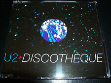 U2 Discotheque Australia Remixes Picture Disc 4 Track CD Single