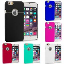 For Apple iPhone 6S (4.7) Hard Deluxe Chrome Rear Slim Case Cover Accessory