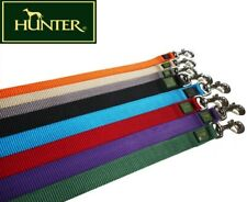 HUNTER NYLON DOG COLLAR WITH ALU-STRONG CLIP *LEAD & LEASHES & ALL SIZES*