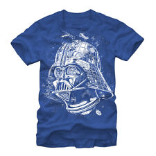 Star Wars Vader Death Star Mens Graphic T Shirt