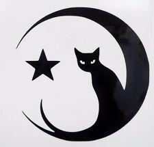 Cat Eyes Moon Star Sexy Funny Car Window Vinyl Decal Sticker Choose 12 Colors!