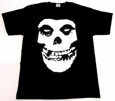 The MISFITS T-shirt Big Skull Fiend Danzig Horror Punk Tee Adult S-3XL Black New