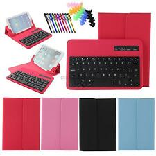 """For 7 -7.9"""" tablet universal bluetooth keyboard removable pu leather covers"""