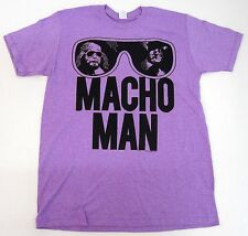MACHO MAN T-shirt Old School WWF WWE Wrestling Randy Savage Tee Adult 2XL New