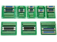 D-SUB Header Connector Breakout Board, Terminal Block, DSUB Module.