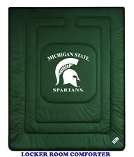 MICHIGAN STATE SPARTANS LOCKER ROOM COMFORTER &  PILLOW CASE SET