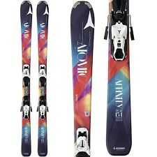 BRAND NEW! 2015 ATOMIC AFFINITY PURE SKIS w/ATOMIC XTE 10 BINDINGS SAVE 50% OFF!