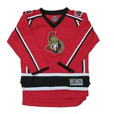 New NHL Official NHL Ottawa Senators Toddler Boys Hockey Jersey Size 3T 4T