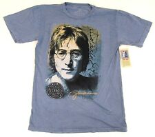 JOHN LENNON T-shirt Beatles Rock And Roll Hall Of Fame Inductee Tee Adult M-2XL