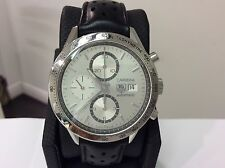 TAG HEUER Ref. CV2017 Carrera Cal. 16 Automatic S/S 41mm Chronograph! Beautiful!