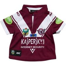 Manly Sea Eagles ISC 2015 NRL Toddlers Home Jersey Size 0-4! BNWT's! NEW!!!