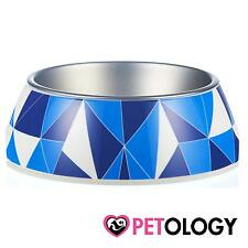 Gummi Pet Products Federation Blue Dog Feeding Bowl Small Medium Large Dog Cat P