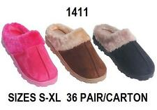 New Women's House Slippers Cushion Indoor/Outdoor Slipper # 1411 Sz S, M, L, XL