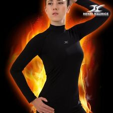 Womens Thermal Mock Turtleneck Compression Base Layer Under Amour Napping NLW