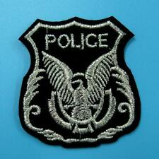 Police Cop Eagle Fly Army Iron on Sew Patch Applique Badge Embroidered Biker Lot