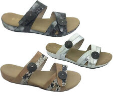 Ladies Shoes Step On Air Rita Slides Comfort Sandals Size 6-11 Slip Ons