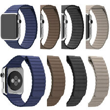 Smart Watch Band For Apple Watch 42mm Genuine Leather Loop Type Watch Band Strap