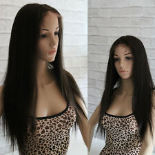 Full Lace Wig 100% Real Indian Remy Human Hair Silky Straight 8-22'' ALL COLORS