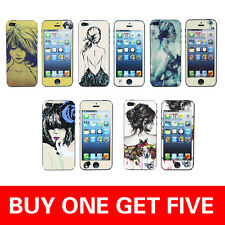 Us Stock For APPLE iPhone 5S 5 Pattern Screen Protector  Holder&Screen Protector