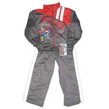 New Ultimate Marvel Heroes Spiderman Boys Nylon Outfit Jacket Pants Set Size 4-7