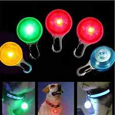 Chic Fabulous Pet Dog Cat Puppy LED Flashing Collar Safety Light Night Pendant