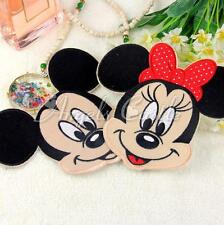 1PC Mickey Minnie Mouse Embroidered Applique Iron On Patch Cloth Sewing Decors