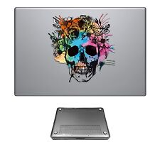 c0108 Sugar Skull Fashion Case Cover For Macbook pro 13'' 15'/ Air 11'' 13''