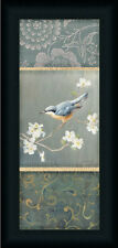 Nuthatch Danhui Nai Traditional Floral Framed Art Print Wall Décor Picture
