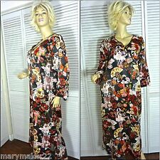 NWT CRUZ NATORI CAFTAN ROBE SMALL & MEDIUM & X-LARGE GEISHA'S PARDAS V-NECK