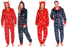 ONEZEE Unisex Novelty Xmas Onesie Fleece All-In-One SuperSoft Warm Hooded