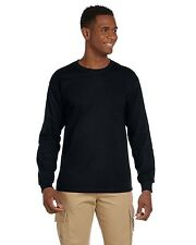 Gildan 2410 Ultra Cotton® 6 oz. Long-Sleeve Pocket T-Shirt S-5XL