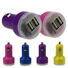Hot New Bullet Adaptor Dual USB 2-Port Car Charger For iPhone iPod Touch