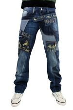BROOKLYN MINT ROCK, ROLL MONEY, TIME IS MONEY HIP HOP URBAN MENS STRAIGHT JEANS