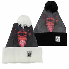 SALE ITEM WAS Digi Beanie Ape Sht Mens Womens Unisex Animal Chimp beanie